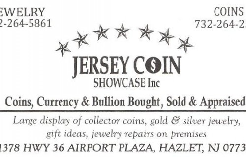 Jersey Coin 001